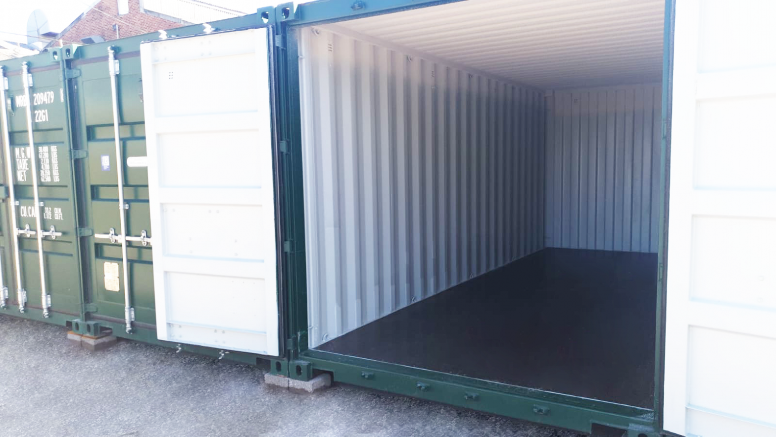 inside container storage poole