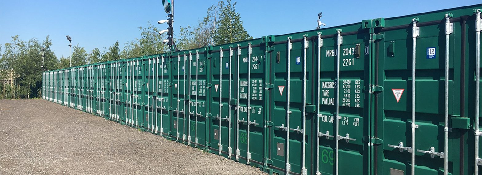 shipping container storage poole